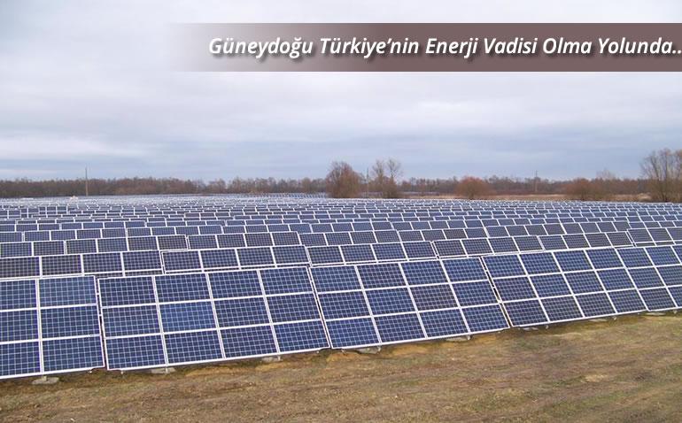 """TÜRKİYE'NİN ENERJİ VADİSİ """"GÜNEYDOĞU"""""""